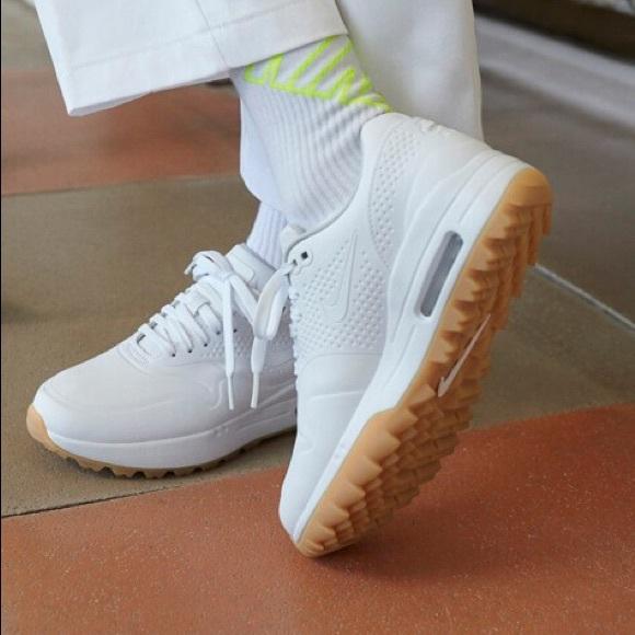Nike Shoes New Air Max 1 Golf White Gum 10 Poshmark